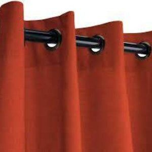 Pottery Barn Grommet Curtain Terra Cotta 50x84 NIB